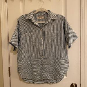 Madewell Striped Button-down Top